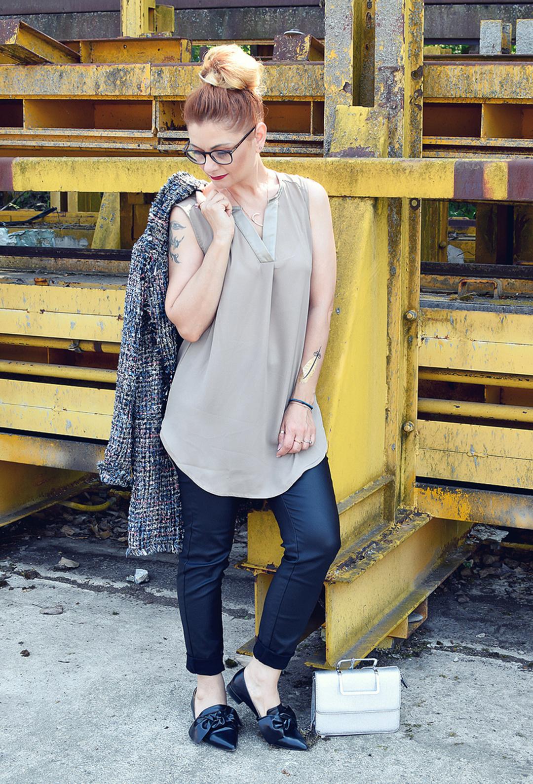 Amy Vermont by Wenz, so stylst Du einen Bouclé Mantel von Amy Vermont