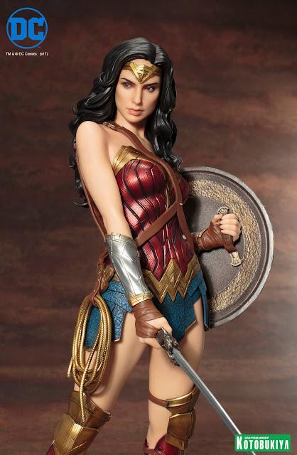 osw.zone Kotobukiya ARTFX 1 / 6. Scale Batman v Superman Gal Gadot Wonder Woman Statue