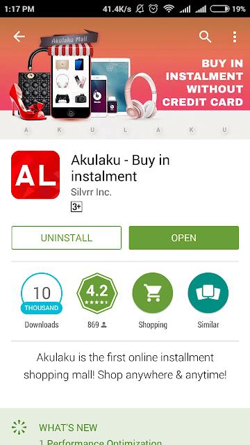 aplikasi akulaku di playstore