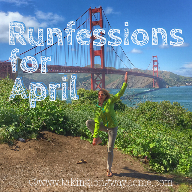 Runfessions for April