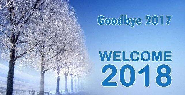Goodbye 2017 Welcome 2018 Pics Image