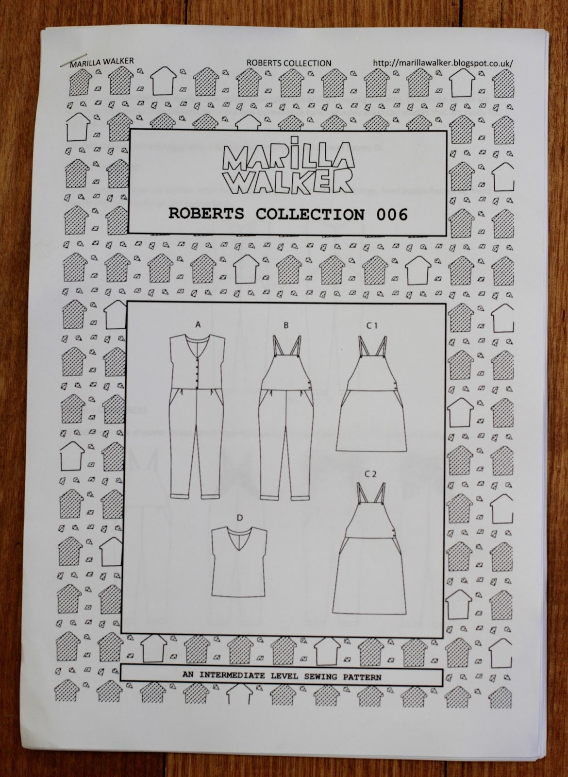 THE DRAPERY: Pattern Review: Marilla Walker Roberts Collection View ...