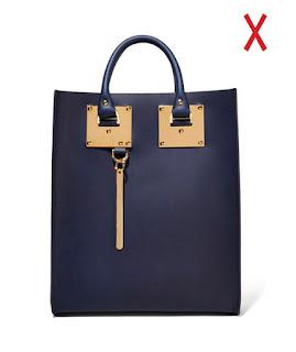 Синяя жесткая сумка вертикальной формы