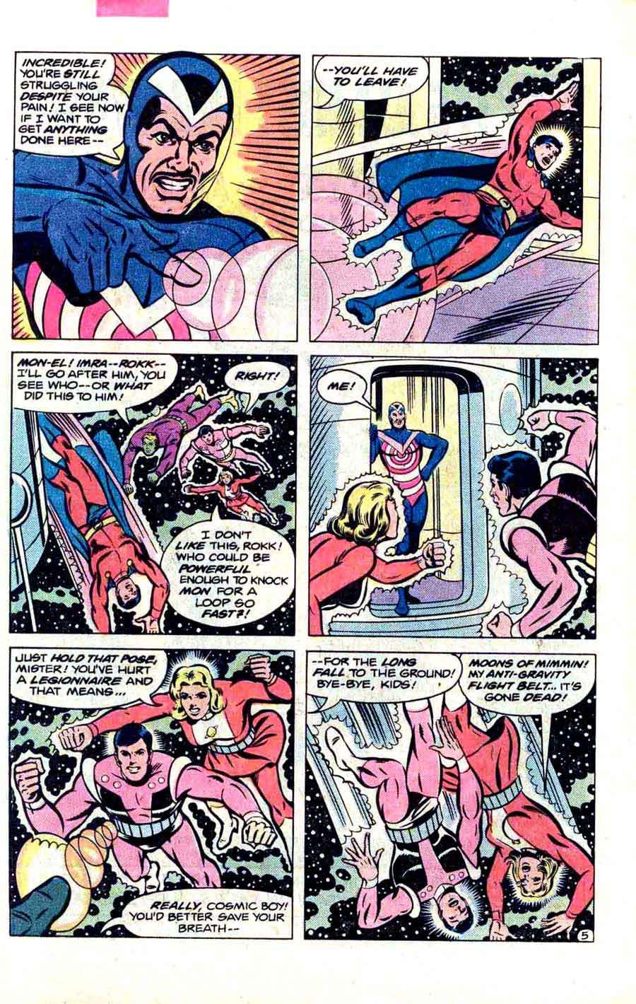Legion of Super-Heroes v2 #267 - Steve Ditko dc 1980s comic book page art