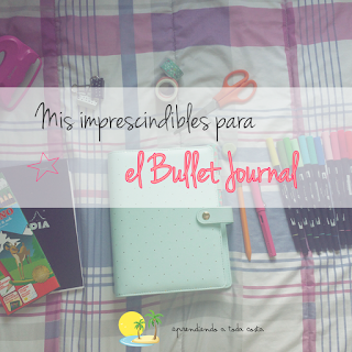 Imprescindibles bullet journal