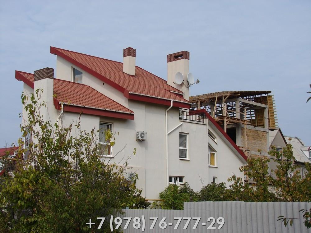 Строительство в Крыму дом под ключ ракушечник