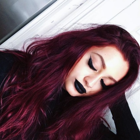 Black Lipstick Looks | How to wear black lipstick
