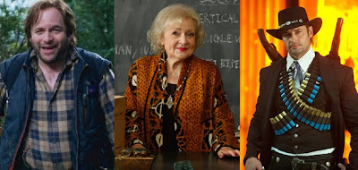 Community cameos Jason Alexander Betty White Josh Holloway