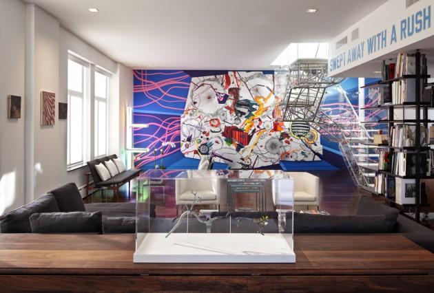 Imagine These: Apartment Interior Design   Art Collector's ...
