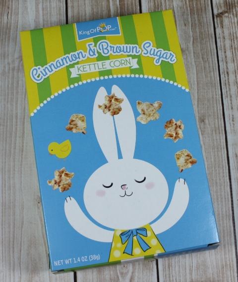 easter bunny kettle corn