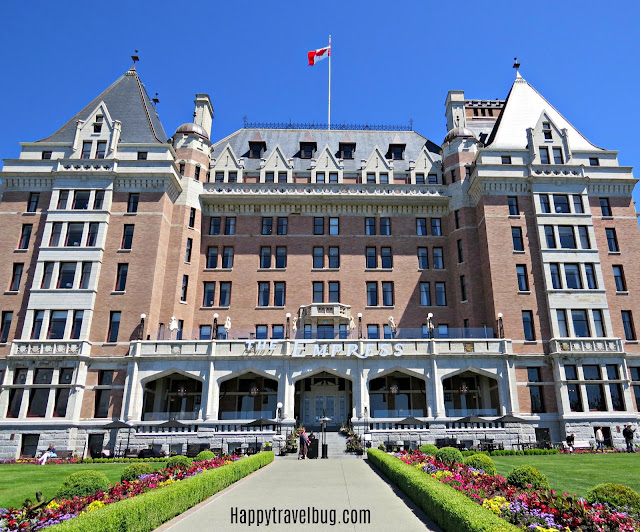 The Empress hotel in Victoria, BC