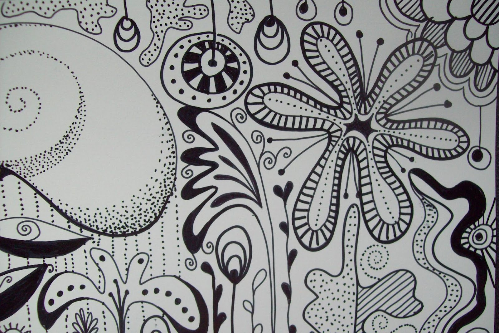 journal illustrations and musings: Sharpie doodle and the ...