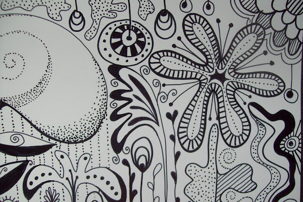 Journal Illustrations And Musings Sharpie Doodle