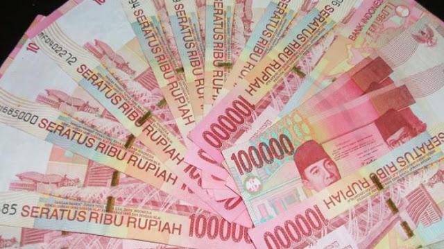 uang ratusan