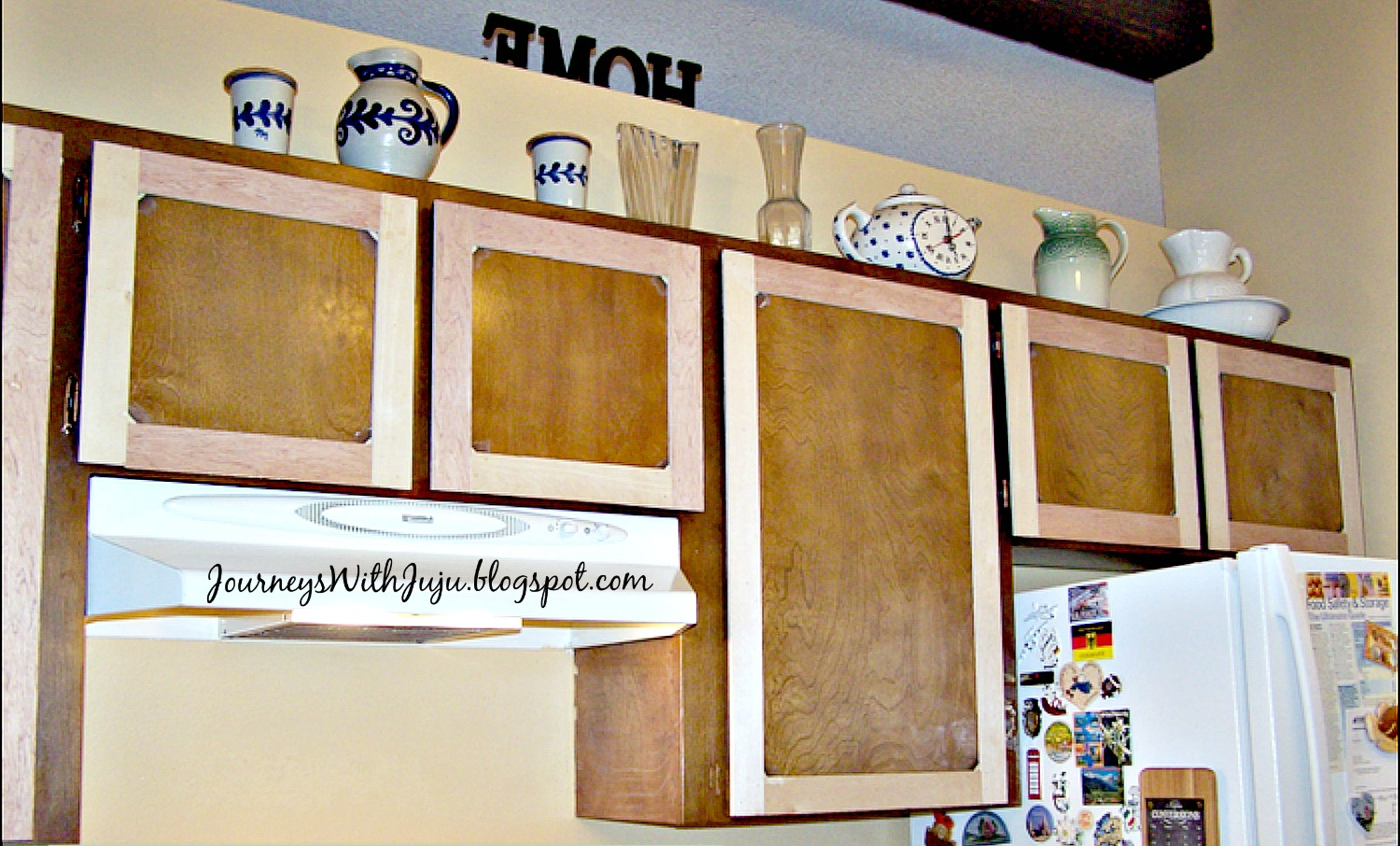 journeys with juju: kitchen cabinet makeover - doors & drawers
