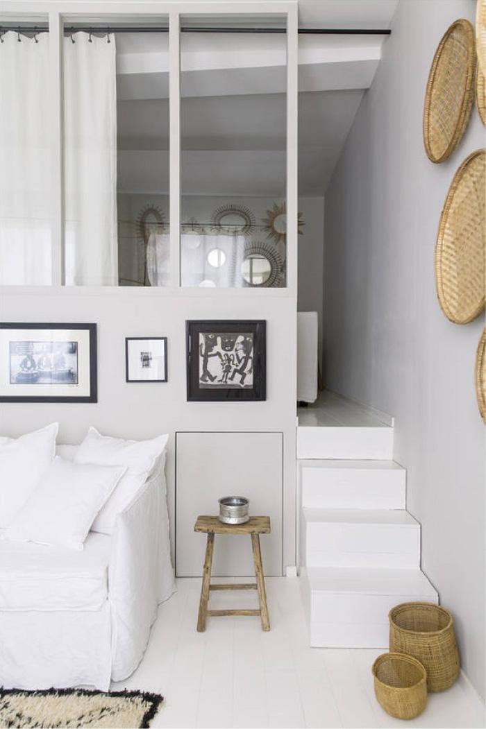 32 metri quadri di stile a lione blog di arredamento e for Appartamenti decor