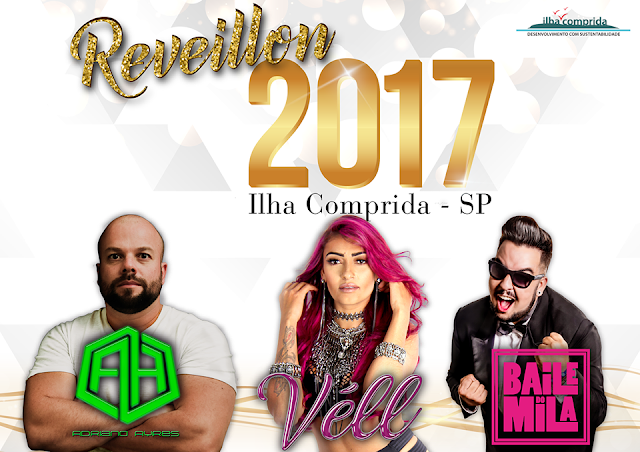 BAILE DO MILA NO RÉVEILLON 2017 DA ILHA COMPRIDA