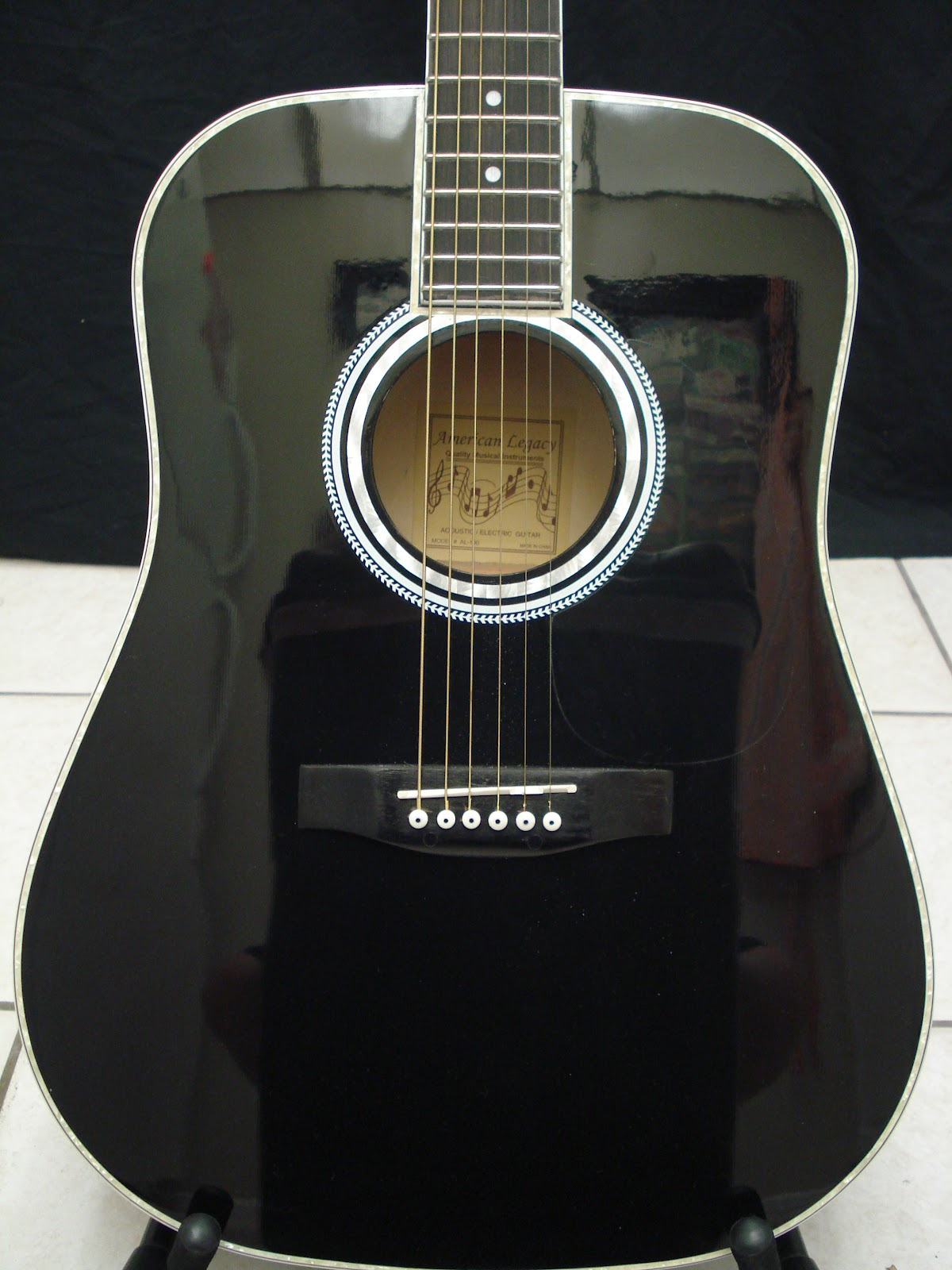 socal gear museum 2000s esteban american legacy acoustic electric guitar. Black Bedroom Furniture Sets. Home Design Ideas