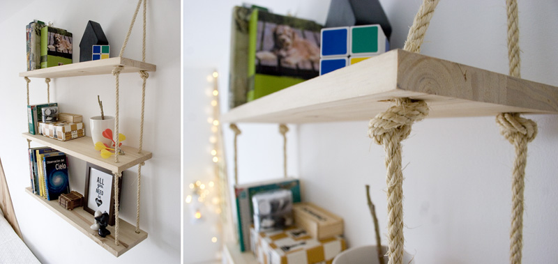 Decorar en familia_Diy baldas de cuerda y madera7