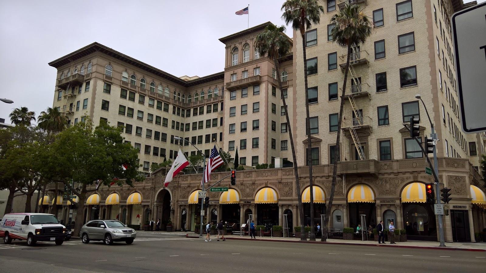 Pretty Woman elokuva hotelli Los Angeles kiertoajelu Mallaspulla matkakertomus