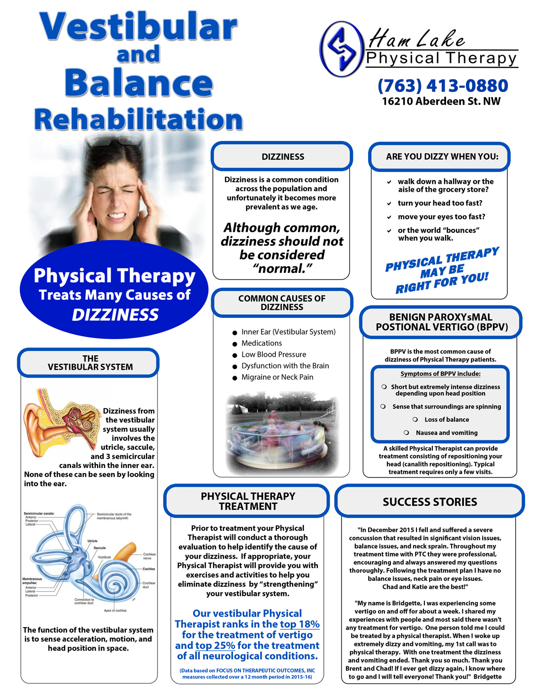 Vestibular Physical Therapy Physical Therapy Consultants Inc