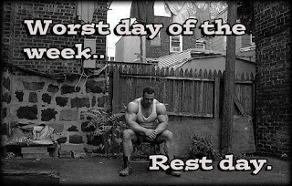 rest day is the worst day of the week