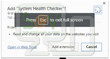 System Health Checker (Extensión)