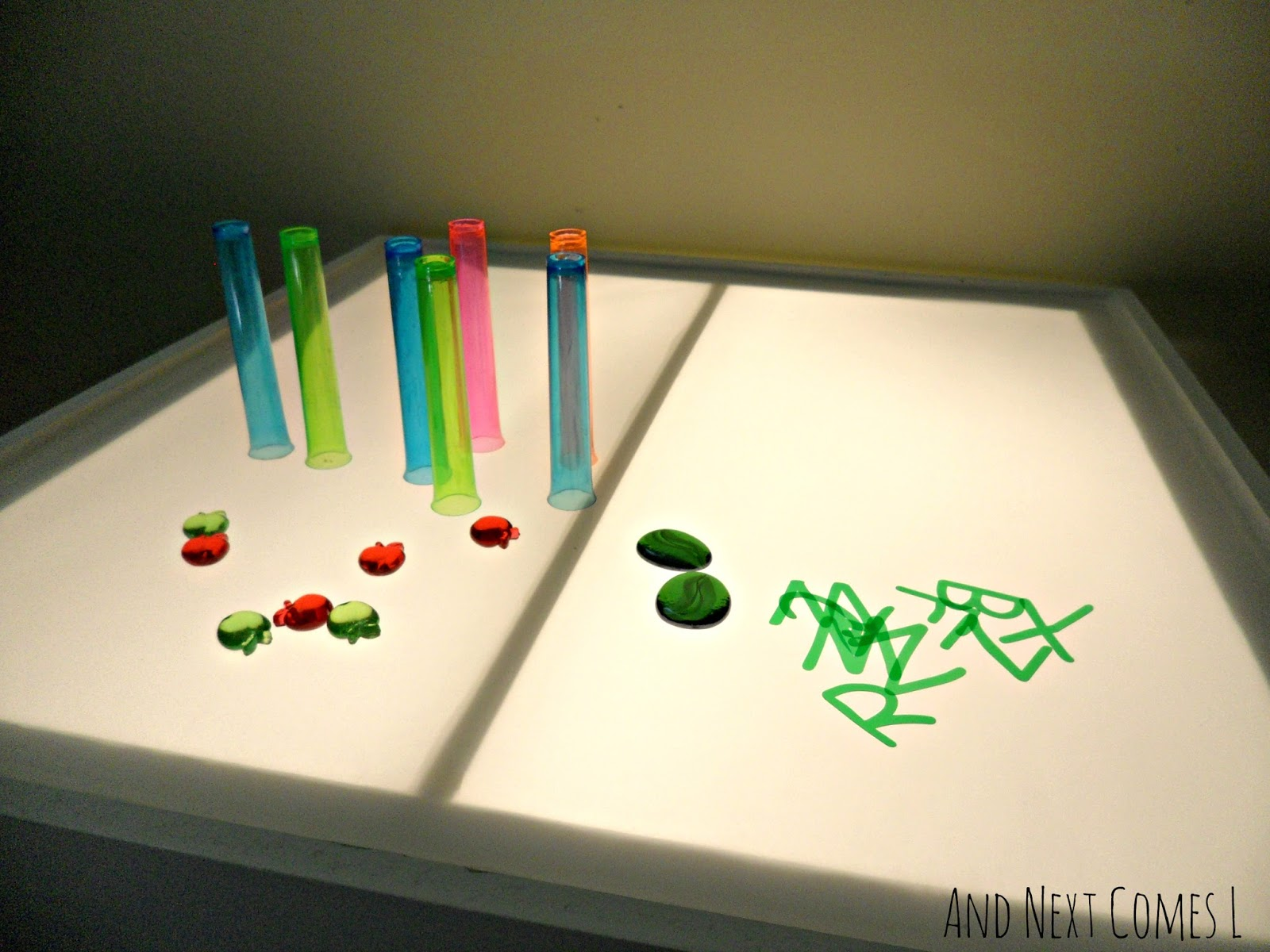 DIY light table tutorial from And Next Comes L