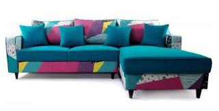model sofa bed minimalis simpel ruang tamu sempit