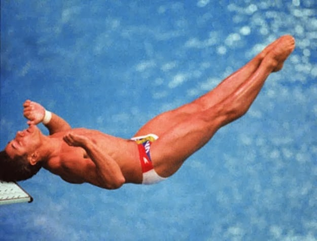 The shock you felt when you saw Greg Louganis hit his head on the diving board at the 1988 Seoul Olympic