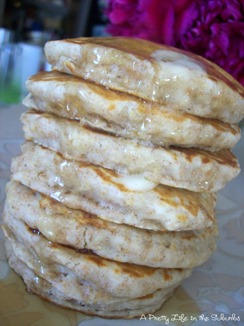 Delicious Oatmeal Pancakes!