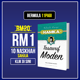Tawaran Gila-Gila Buku Pak Hamka RM 1