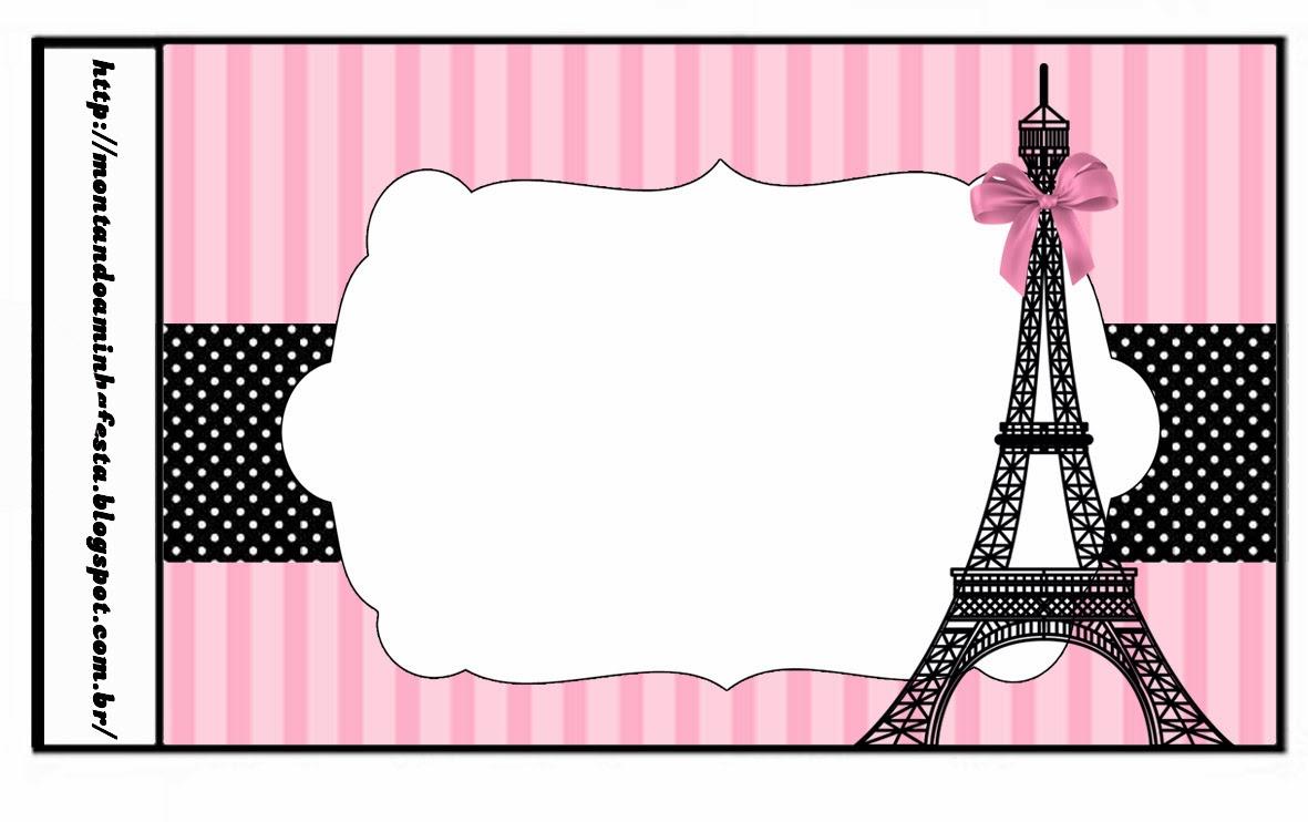París: Etiquetas para Candy Bar para Imprimir Gratis. | Ideas y ...