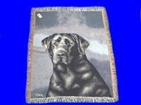 Black Lab Blanket throw tapestry