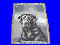 Black Lab Blanket throw tapestry