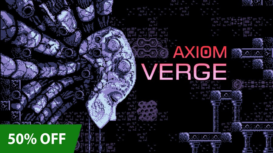 axiom verge xbox pixel art sale