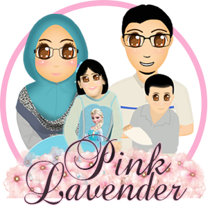 Watermark Blog Pink Lavender, edit blog murah, design blog murah