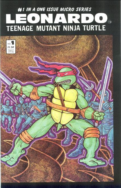 TMNT Entity: Leonardo (microseries) #1