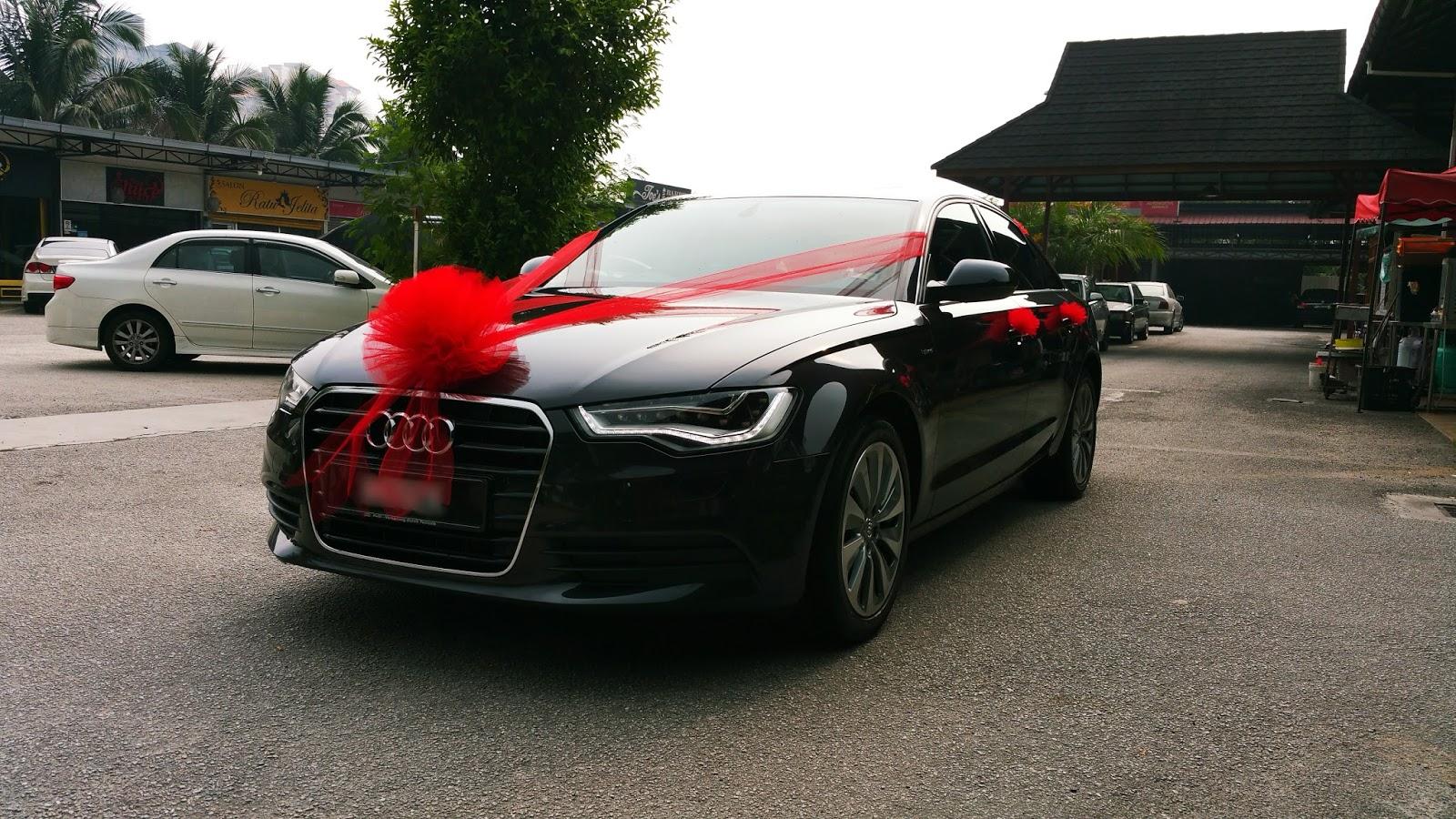 RedOrca Malaysia Wedding and Event Car Rental: Audi a6 ...