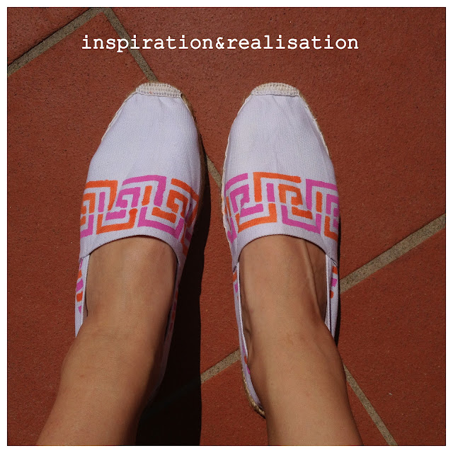 Inspiration And Realisation Diy Fashion Blog Scarf Home: Inspiration And Realisation: DIY Fashion Blog: Espadrilles