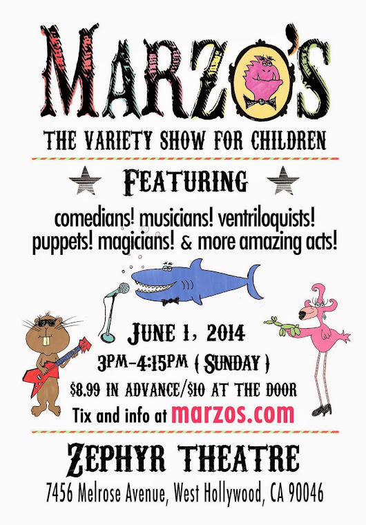 Bring the Family for Some Fun at Marzo's Next Variety Show for Kids!