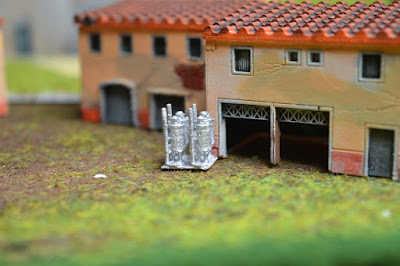 Set of 4 Roman Houses 1:144 (10-12mm) (Code: nj-144_rom2) 1