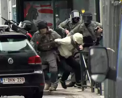 Terrorist Salah Abdeslam captured by police