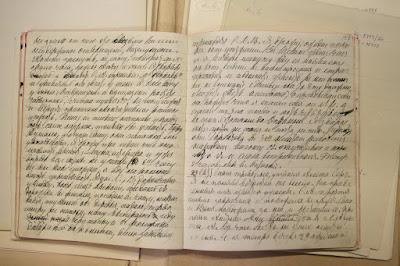 Вот так выглядит личный дневник Л.Н.Толстого. Все очень строго и в линеечку, никаких котиков)))
