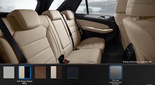 Nội thất Mercedes GLE 400 4MATIC Coupe 2018 màu Vàng Ginger/Đen 245