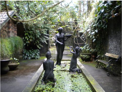 Museum ullen Sentalu Kaliurang,Yogyakarta,