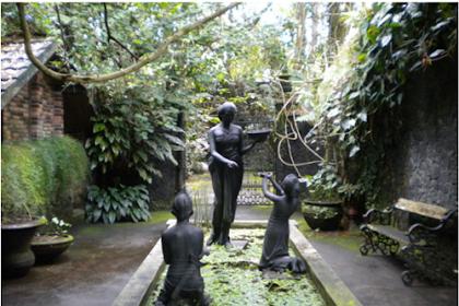 Museum ullen Sentalu Kaliurang Yogyakarta, tempat mengenal sejarah Kraton dan budaya Jawa
