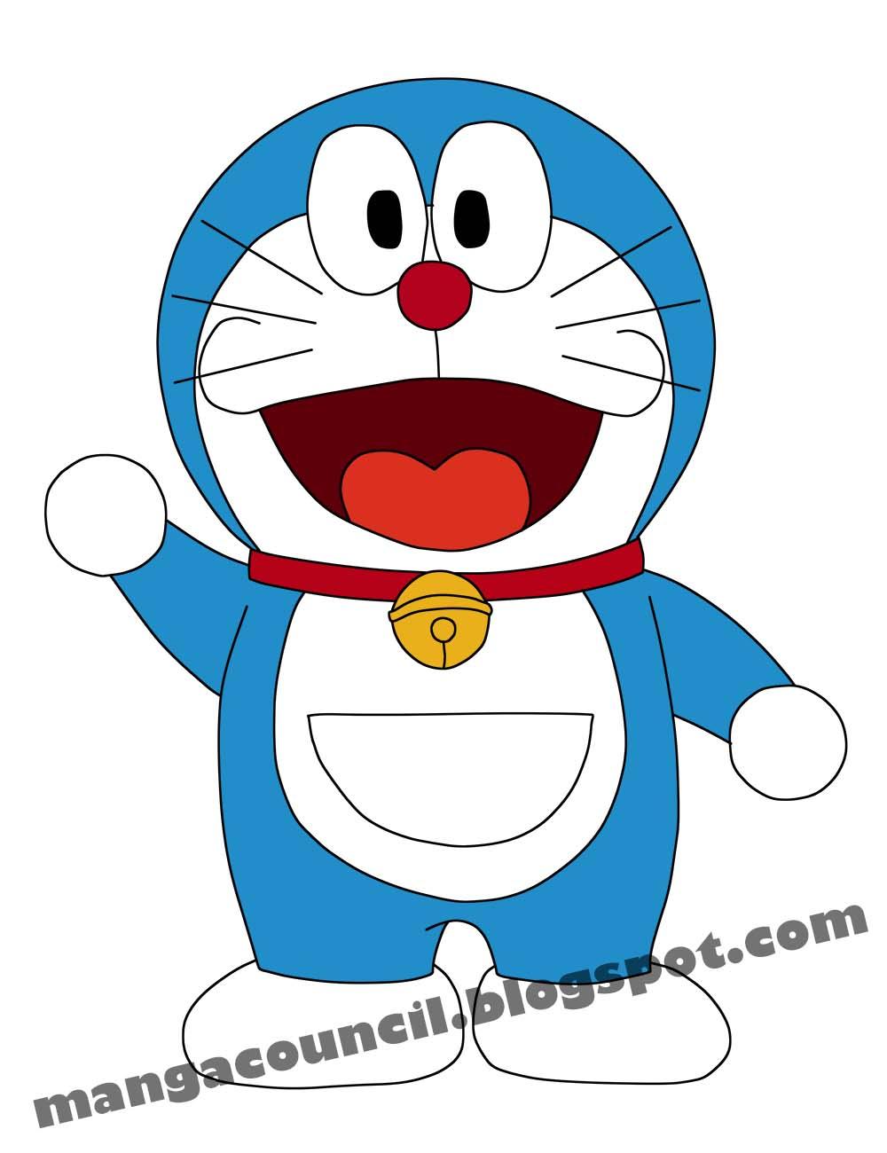 Cara Menggambar Anime Doraemon dengan Cepat  Manga Council