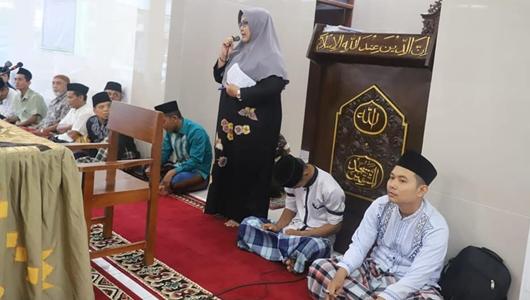 Ketua DPRD Kota Padang Buka Pesantren Ramadan di Masjid Al Muttaqin