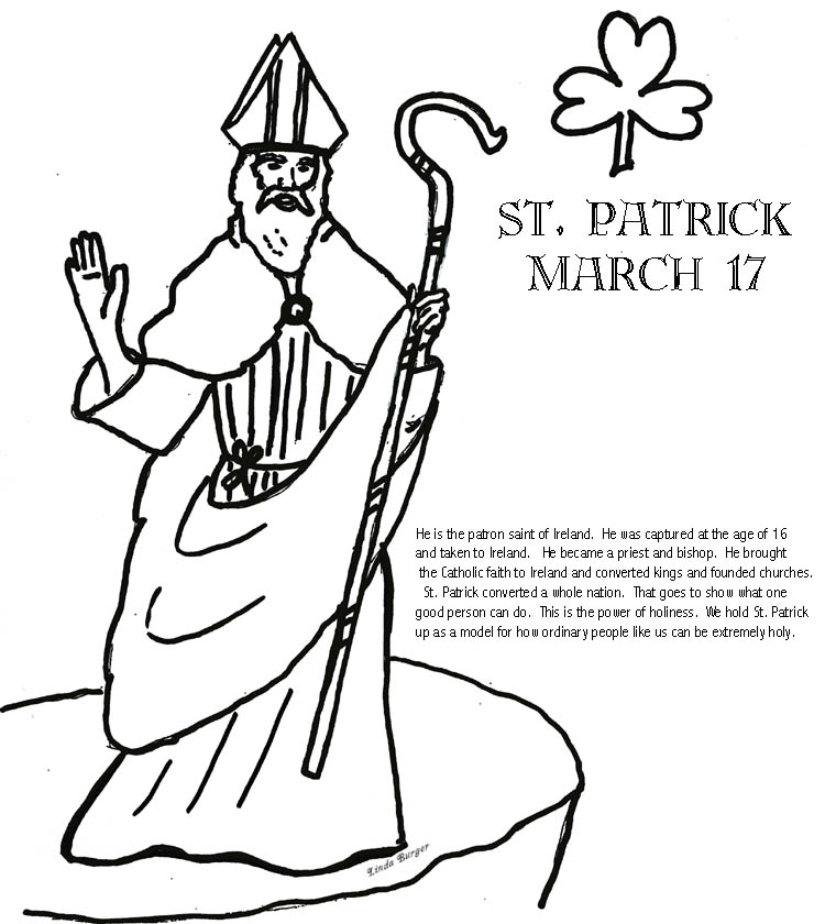 coloring pages for st patricks - photo#41